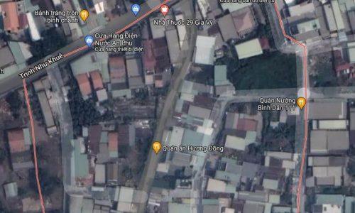 Bán 461,8m2 đất Bình Chánh có sổ đỏ