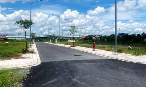 Bán đất thổ cư 2 mặt tiền 90m2 huyện Củ Chi