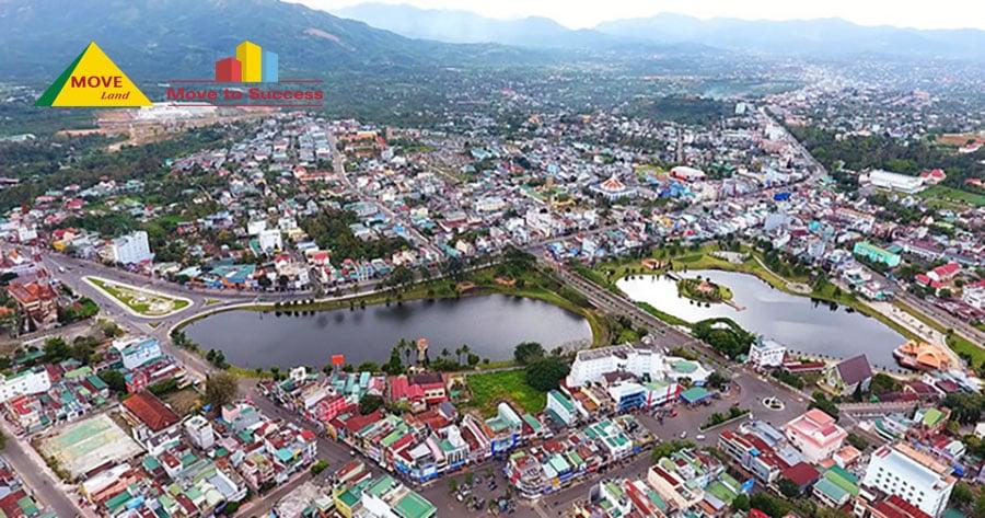 Vị trí địa lý của thành phố Bảo Lộc