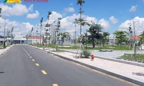 Bán đất thổ cư MT vòng xoay công viên đài Truyền hình Vĩnh Long